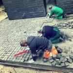 Bazalto grindinio įrengimas