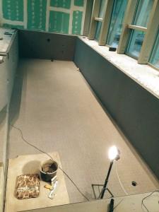 Mozaikos plytelių klijavimas