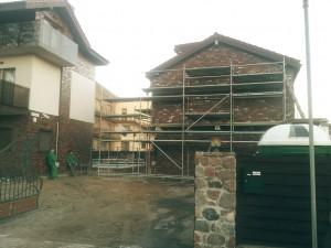 Sienų įrengimas - mūro darbai