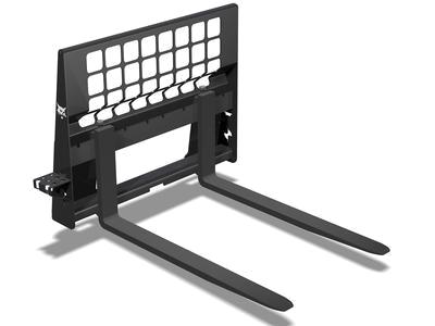 Mini krautuvo Bobcat S530 šakės